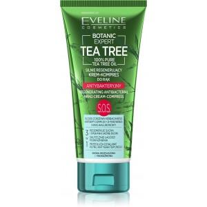 BOTANIC EXPERT TEA TREE - ANTIBAKTERIÁLNY SILNE REGENERAČNÝ KRÉM - MASKA NA RUKY